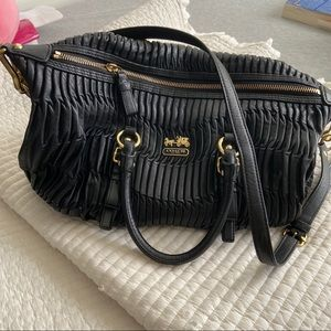 COACH Madison Gathered Leather Juliette Bag